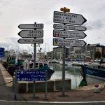 Im Hafen von Couseulles-sur-Mer.