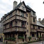 In Bayeux auf der Rue Saint-Malo.