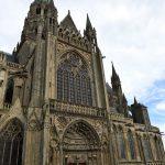 Bayeux - Ausschnitt von der Kathedrale Notre-Dame-de-Bayeux.