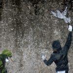 Offenbar war auch Banksy in Bayeux.