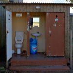 Diese Toilette im Angesicht des Mont Saint-Michel gibt es heute in dieser Form nicht mehr.