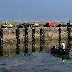 Im alten Hafen von Roscoff.