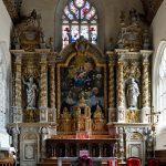In der Eglise Notre Dame de Croaz-Batz in Roscoff.