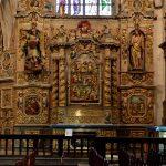 Im rechten Seitenschiff der Kirche von Lampaul-Guimiliau. @ Klaus W. Schmidt