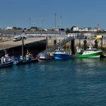 Im Wirtschaftshafen von Roscoff, hier der Fischereihafen. @ Klaus W. Schmidt