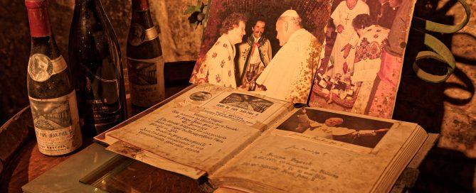 Die unumstößlichen Beweise für den Besuch bei Joahnnes Paul II