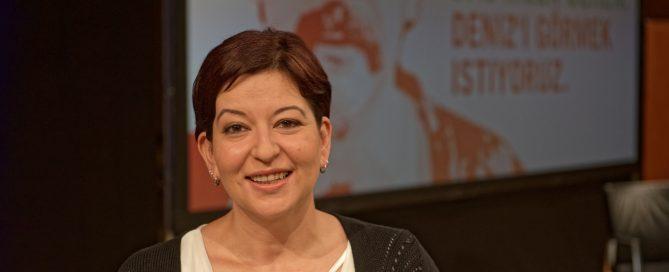 Ilkay Yücel, die Schwester von Deniz Yücel, konnte ihren Bruder im Gefängnis besuchen