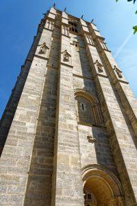Eine Seite der Kathedrale Saint-Julien du Mans