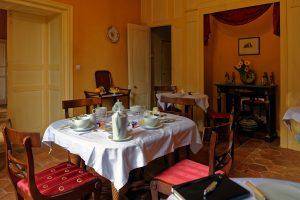 Das Frühstück mit sehr persönlichem Service von Benoît Desbans