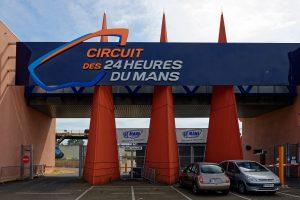 Der Haupteingang zum Circuit des 24 Heures du Mans