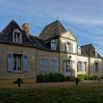 Das Hôtel Domaine de Châtenay au Mans von der anderen Seite