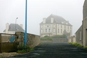 Regel und Nebel begleiten den Spaziergang