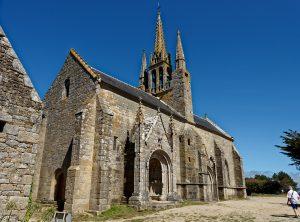 Notre Dame de Tronoën, eine kliene gotische Kirche