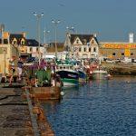 Im Hafen von Saint-Guénolé