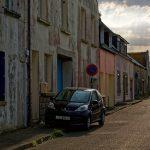 In den Straßen von Saint-Guénolé