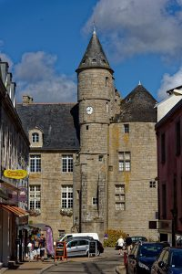 Das Schloss in Pont l'Abbé beherbergt heute unter Anderem das Bigoudenmuseum