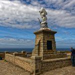 Das Mahnmal 'Notre-Dame des Naufrages' soll die Seeleute schützen
