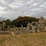 Die Ruine wurde in Ermangelung der einst anderweitig verbauten Steine in diesem Zustand erhalten