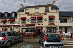Das Restaurant 'Le Doris' in Kérity