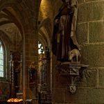In der Kirche Saint Ronan in Locronan
