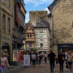 Die Fachwerkhäuser in der Altstadt von Quimper sind berühmt