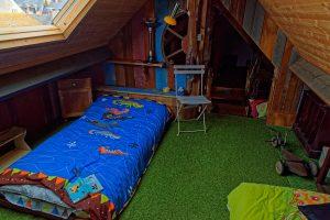 Unter dem Dach ein Kinderparadies
