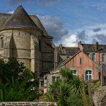 Die Schüler des Collège Tour d'Auvergne in Quimper sind zum Teil hinter mächtigen mauern untergebracht