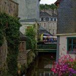 Das Flüsschen Le Steïr in Quimper mündet hundert Meter weiter in den Odet
