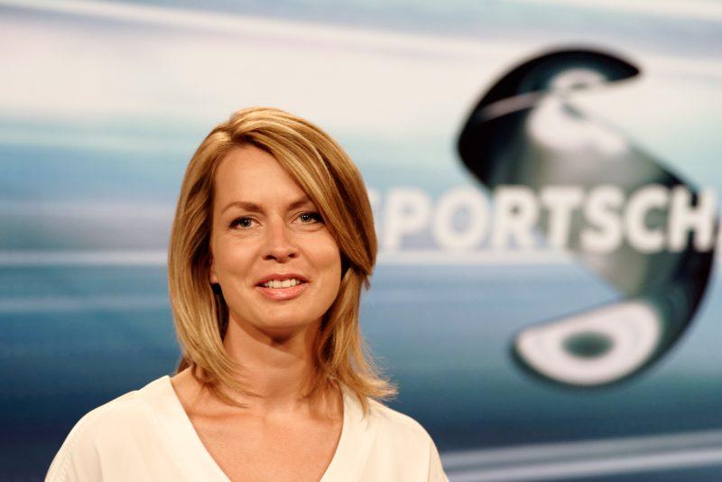 Jessica Wellmer, die neue Moderatorin der ARD-Sportschau am Samstag. @ Klaus W. Schmidt