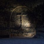 Kreuz an der Nekropole