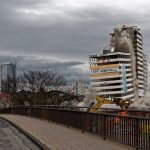 Das Treppenhaus reißt endgültig ab