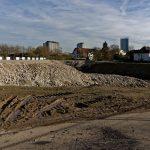 Acht Monate nach der Sprengung ist das Gelände fast sauber