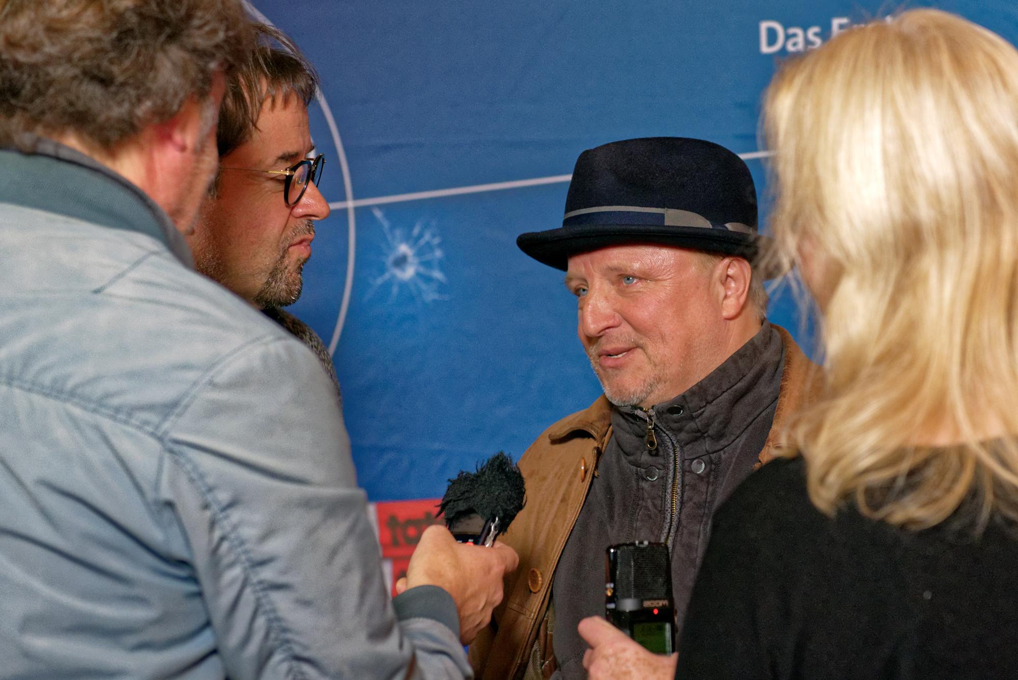 Prahl und Liefers im Interview