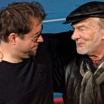 Jan Josef Liefers mit Claus C. Clausnitzer