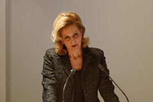 Ulrike Lubek hielt einen emotionalen Vortrag