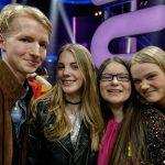 Die FinalistInnen Leon, Annalea, Zuzanna und Julia