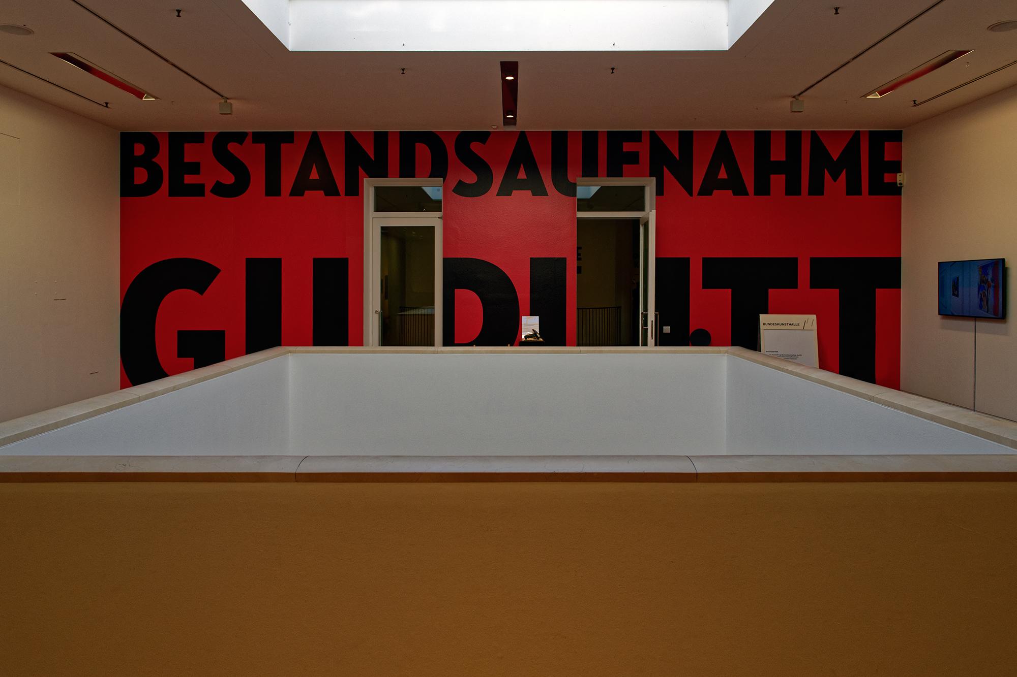 Im Kunstmuseum Bonn am Eingang