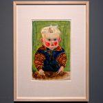 Bildnis eines Kindes. Künstler kann nicht zugeordnet werden wegen unterschiedliche Signaturen