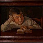Lesender Knabe von Wilhelm Lachnit