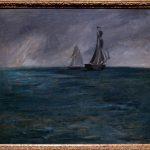 Stürmische See von Edouard Manet
