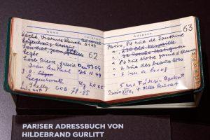 Das Adressbuch von Hildebrand Gurlitt