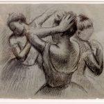 """""""Drei Tänzerinnen"""" von Edgar Degas"""