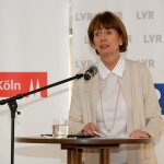 Kölns Oberbürgermeisterin Henriette Reker während ihrer Ansprache