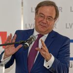 NRW-Ministerpräsident Armin Laschet bei seiner Laudatio